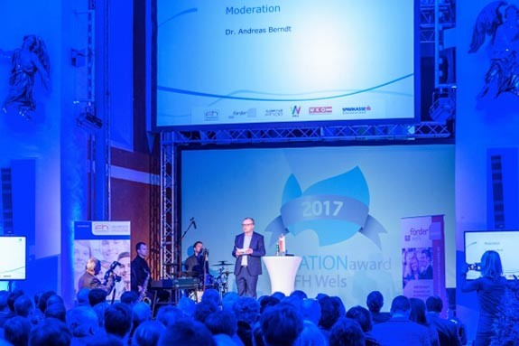 Fotografie, Ticketing und Event-Design für Innovation Award FH Wels